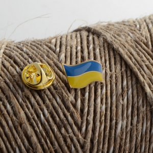 Значок Флаг Украины мини 2