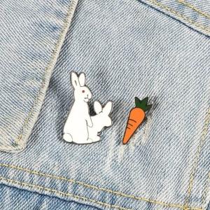 Значок  Fucking Rabbit and Carrot