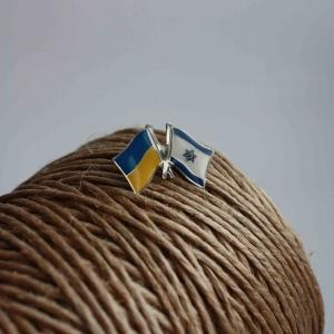 Значок Флаги Украина/Израиль