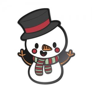 Значок Снеговик