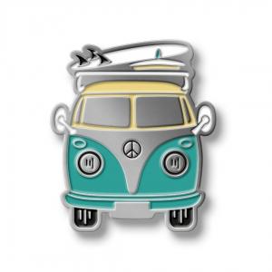 Значок Minibus Mint/Gray