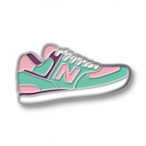 Значок Sneakers New Balance Mint/Pink
