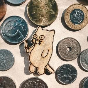 Значок Кот-разбойник