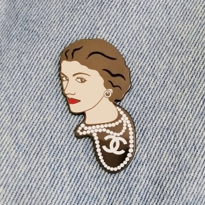 Значок Coco Chanel