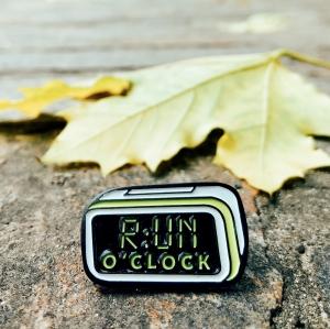 Значок RUN O'CLOCK ALARM
