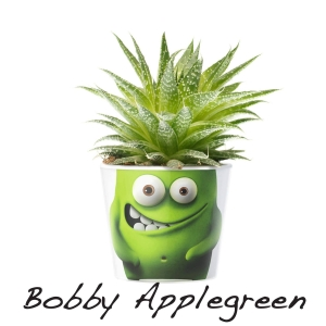 MyFacepot Plantmonster Bobby Applegreen