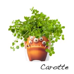 MyFacepot Plantmonster Monsieru Carotte
