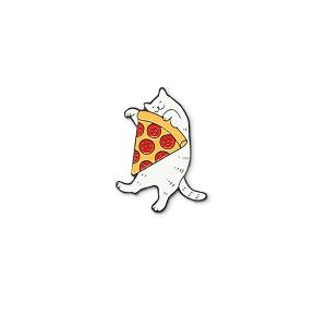 Значок Kot s pizza