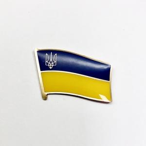 Значок Прапор України з Тризубом (с)